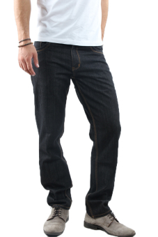 2nd RED 121125 Jeans Fashion Scraft Wifing - Hitam