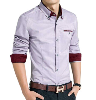 Harga SR Collection Alex Shirt - Abu