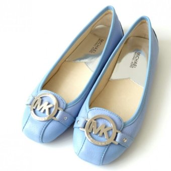 Harga Michael Kors Fulton Leather Moccasin - Sky