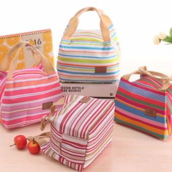 Harga Lunch bag Cooler Bag (bonus 2pcs jelly ice cooler)