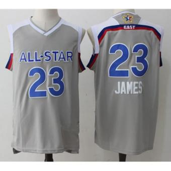 Harga Men's NBA Basketball Jerseys Cleveland Cavaliers #23 2017 All-Star LeBron James - intl