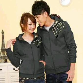 Harga Couple Store - Jaket Couple Qing Army Abu