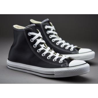 Harga Sepatu Sneakers All Star Classic HighCut Series - Black White