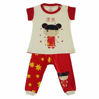 Pajamas For Children Chinese Girl