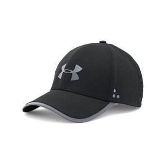 Harga Mens Under Armour Flash ArmourVent 2.0 Cap, Black , One Size - intl