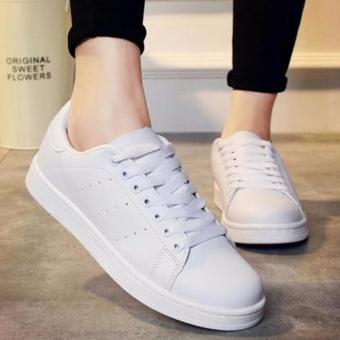 Harga SHOES ZORA BOLONG SAMPING WHITE