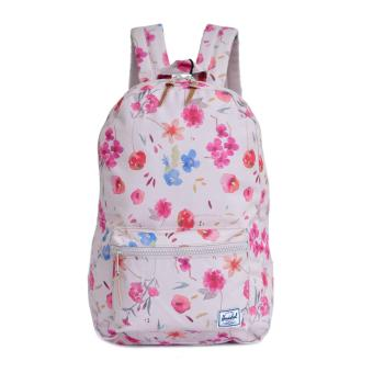 Harga Backpack Herschel Settlement Flower Pink