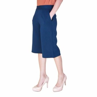 Harga Short Basic Culottes Navy