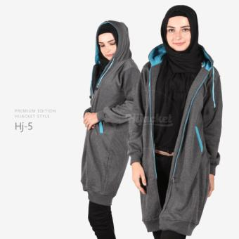 Jaket Hijab Hijacket Wanita Misty Turkish