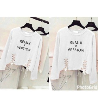 Harga Labelledesign Remix Version Blouse - White