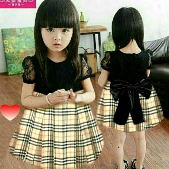 Harga MJ Dress Anak Sansan Burberry - Burberry