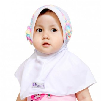 Harga Basith Collection Bergo Jazmin - Putih