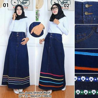 ... Harga 168 Collection Rok Maxi Lilit Reika Batik Biru Terbaru 2017 Source Harga 168 Collection Rok