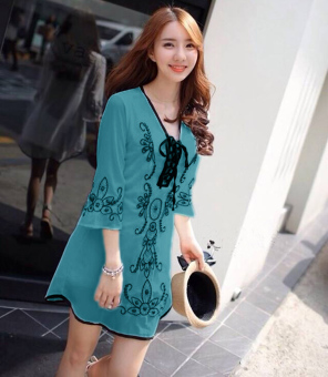 Harga Ayako Fashion Dress Anisa - HO (Tosca)