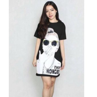 Harga Labelledesign Hongkong Blouse - Black