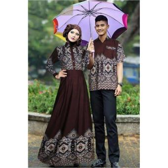 Harga Trend Baju - Couple Kamila Uk L - Black