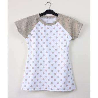 White Pattern Misty Grey Putih Source Just Mom Baju Menyusui Vidie Brown Polka .
