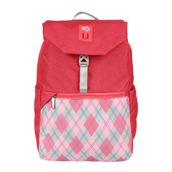 Harga Exsport Backpack Argyle - Dark Pink