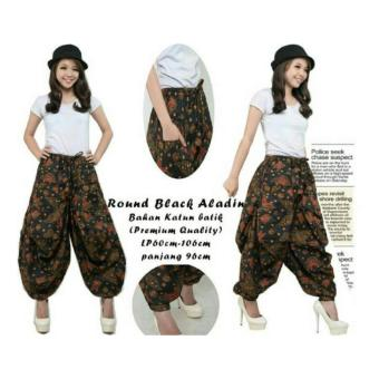Harga SB Collection Celana Aladin Abigail Batik Long Pant -Coklat