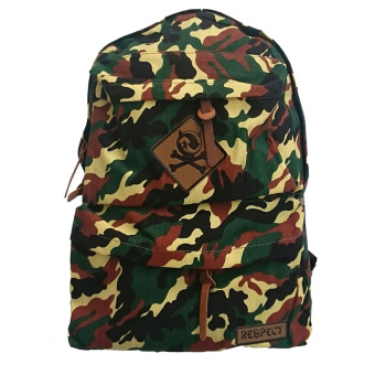 Harga Bag & Stuff Navy Army Respect Backpack - Kuning