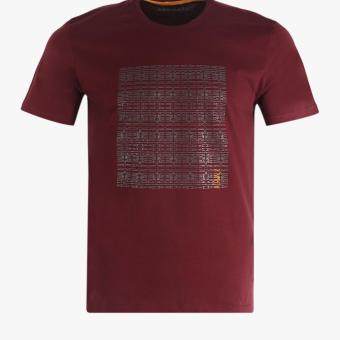 Harga Airwalk Nigel Men's Casual Tee - Maroon