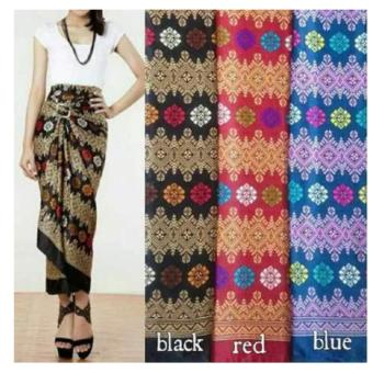 ... Lotus Batik Long Pant Hitam Cek Source 168 Collection Celana Kulot Rok Nurhalizah Long Pant Motif