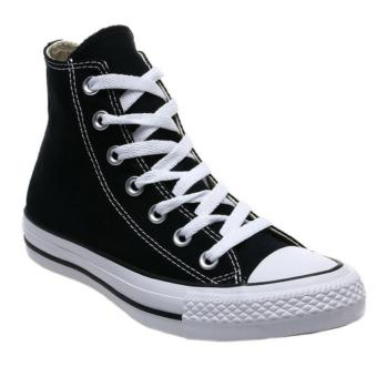 Harga Sneaker All Star ct Hi - hitam