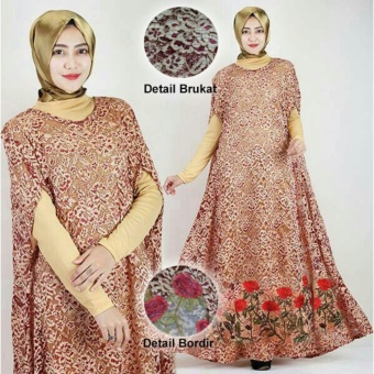Harga TAMIKO-KAFTAN RAISA ( BROWN )