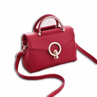 Harga Vicria Tas Branded Wanita - Korean High Quality Handbag Red