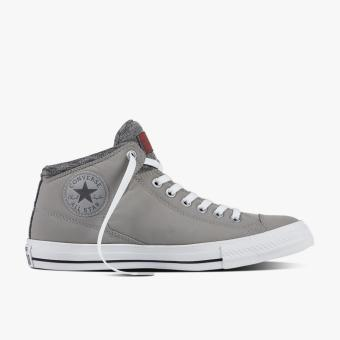 Harga Converse Chuck Taylor All Star High Street Hi Men's Sneakers - Abu-abu