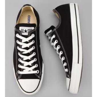 Harga Sepatu Sneakers All Star Classic Low Cut Series - Black White