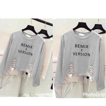 Harga Labelledesign Remix Version Blouse - Misty Grey