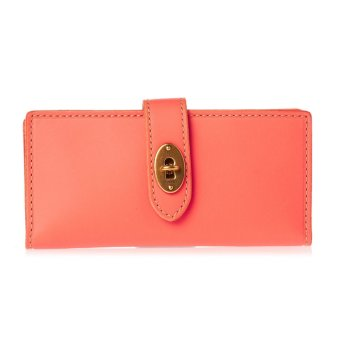 Harga Fossil Austin Wallet Hot Coral