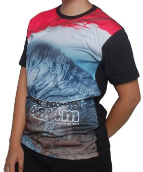 Harga Avtech T-Shirt Seven Summit Cartenz 0824 - Multicolor
