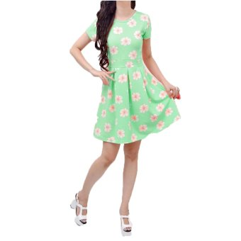Jasmine Mini Dress-Mint