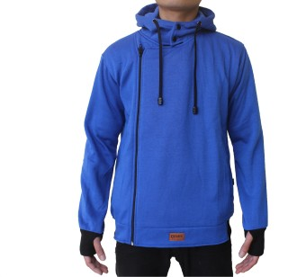 Harga Fashion Sweater Hoodie Harakiri - Biru