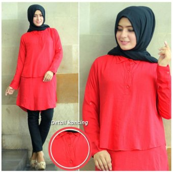 Harga Grateful Blouse Anisa - Merah