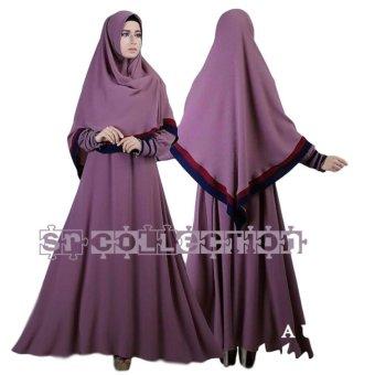 SR Collection Aurel Syari Violet