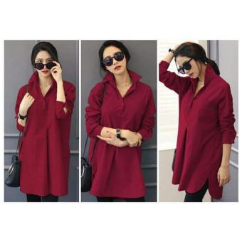 Harga Ayako Fashion Tunik Arista - YTK - (Red)