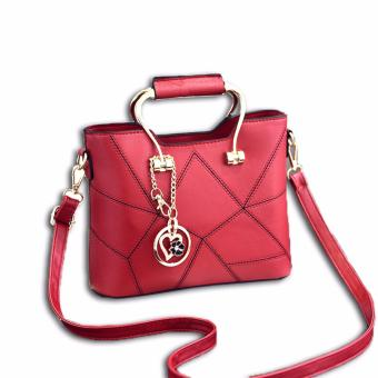 Harga Vicria Tas Branded Wanita - Korean High Quality Awesome Handbag Red