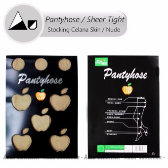Harga Auzu - Stocking pantyhose apple / apple 120 denier Stocking celana skin / beige[Beige]