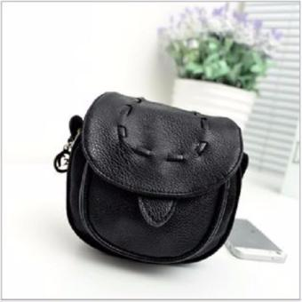 Harga Tas Wanita Korean Fashion Model Retro Handbag Candy Color - Hitam