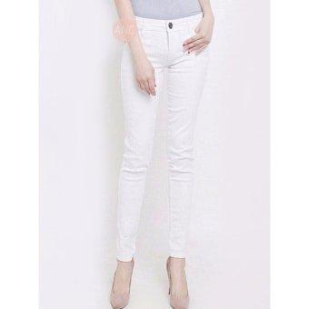 Celana Basic White Jeans