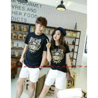 Harga couple store cs - kaos pasangan tiger black