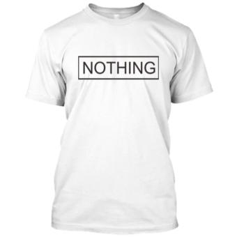 Harga KAOS DISTRO NAYDAYNA NOTHING PUTIH