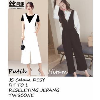 Azure Fashion JS Desy - Hitam | JumpSuit | Play SUite Wanita