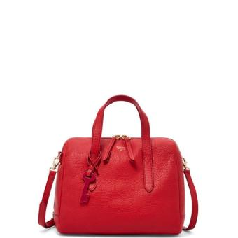 Harga Fossil Sydney Satchel Real Red