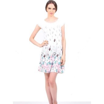 Harga You've 202-5 Lotus Flower Sleepwear - Putih