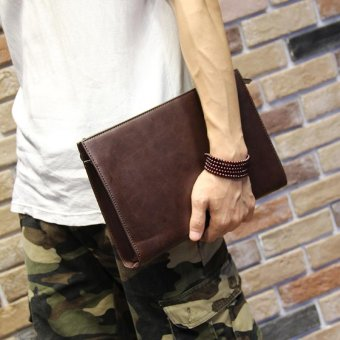 Harga Tidog Male fashion trend of hand bag clutch bag - intl