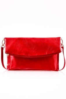 Harga Mayonette Kara Shoulder - Merah